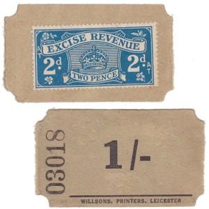 revenue ticket