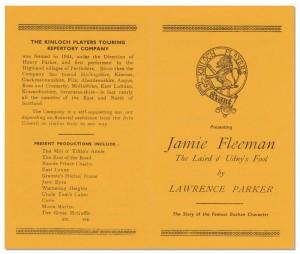 Jamie Fleeman program - front