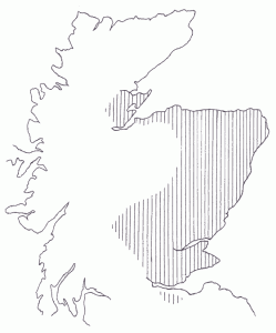 Area covered by the Kinloch Players